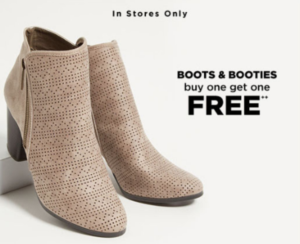 c5ad2fc3c84 BOGO Free Boots & Booties – Bay City Town Center